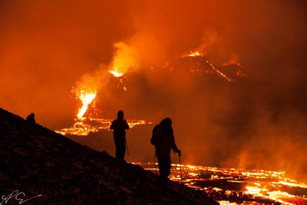 Spektakel am Vulkan