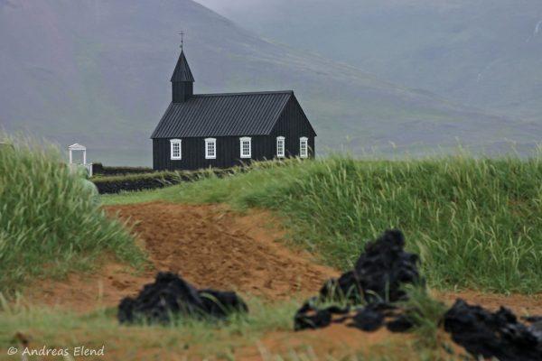 schwarze Búdir-Kirche