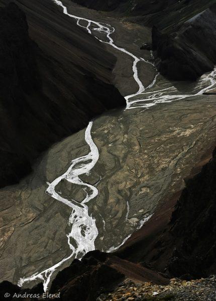 Landmannalaugar: Wege des Wassers V