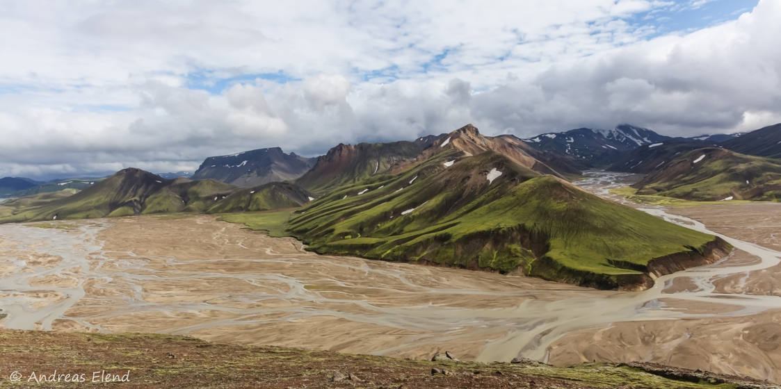 Landmannalaugar: Wege des Wassers II