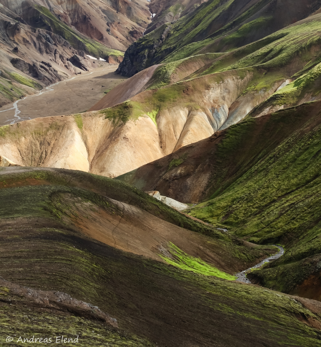 Landmannalaugar: Hügelfarben II