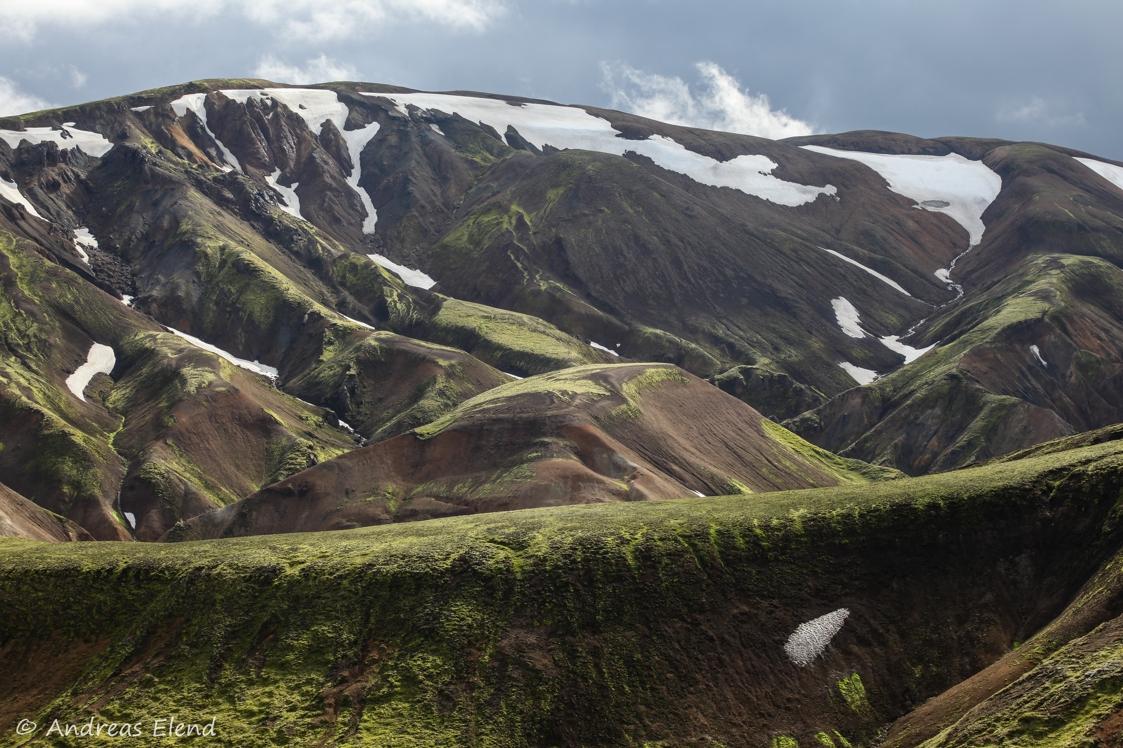 Landmannalaugar: Bergfarben I