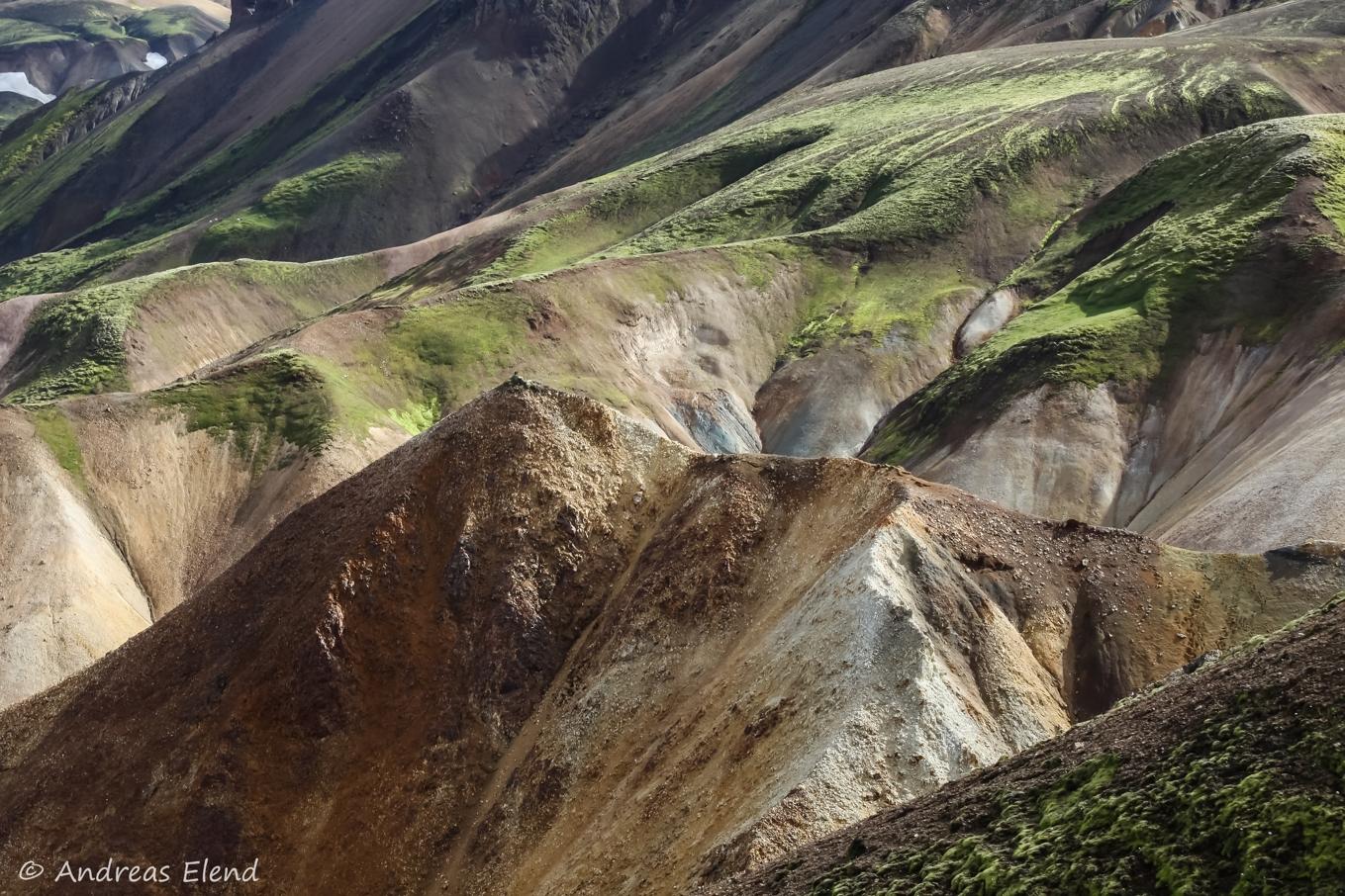 Landmannalaugar: Hügelfarben I