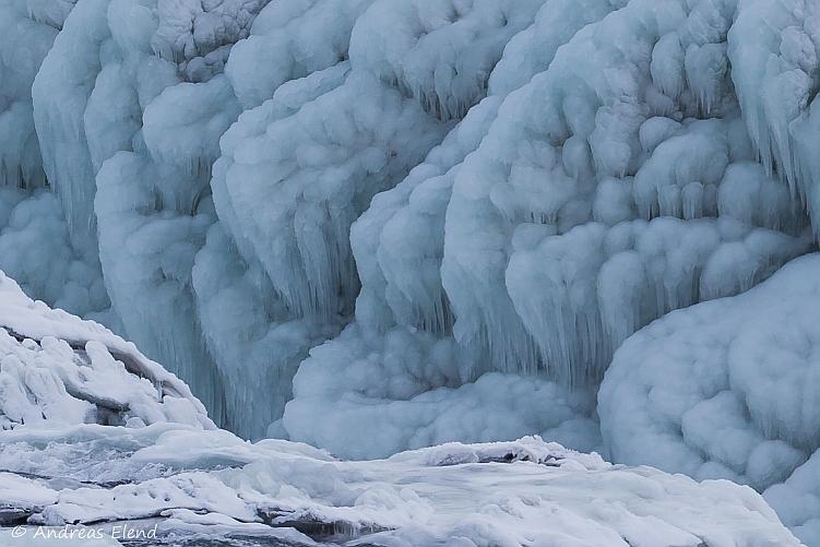 Eisblumenkohl am Gullfoss II