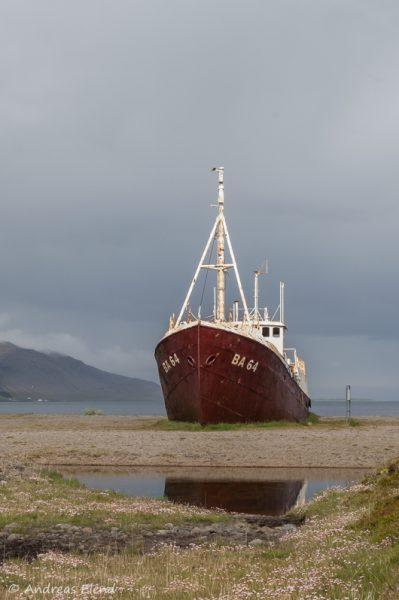 Schiffswrack Gardar