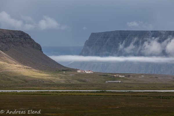 Westfjord-Horizontale bei Hnútur