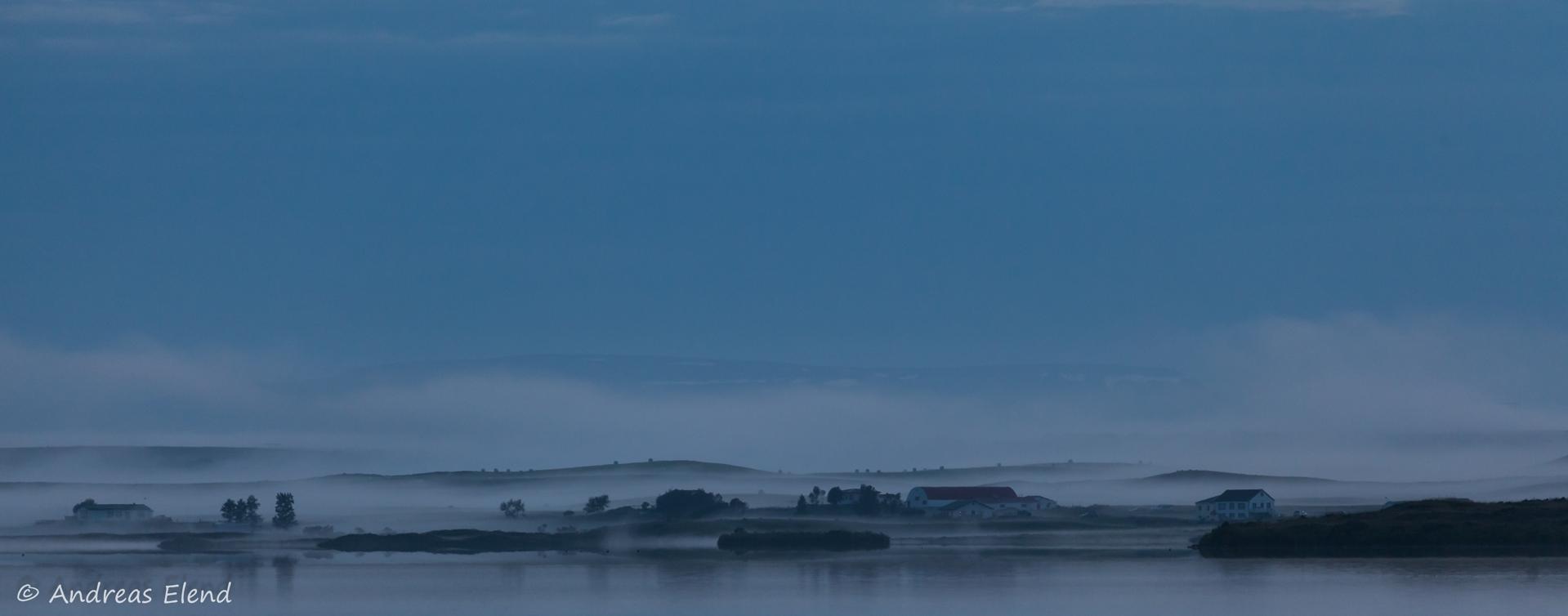 Nebel am Myvatn