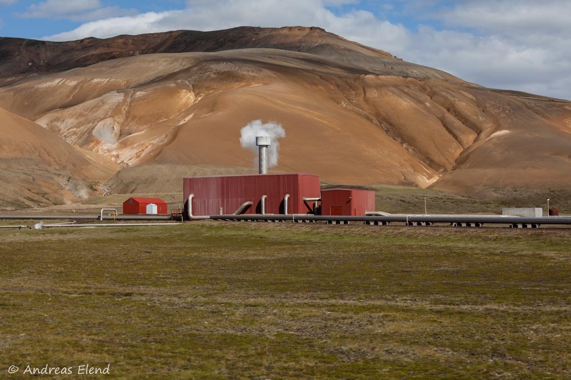 Geothermalkraftwerk Krafla I