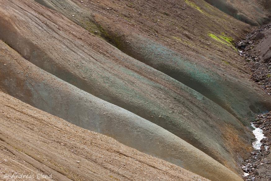 Landmannalaugar: Kupferrippen
