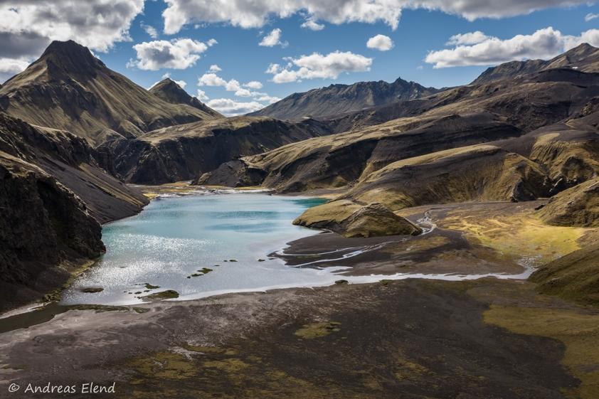 Lagune bei den Uxartindar