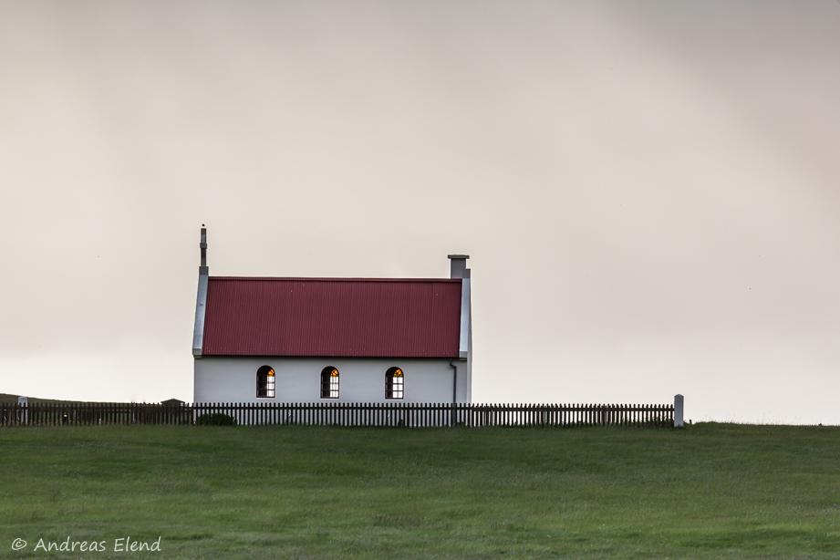 Kirche am Ingjaldssandur, Westfjorde