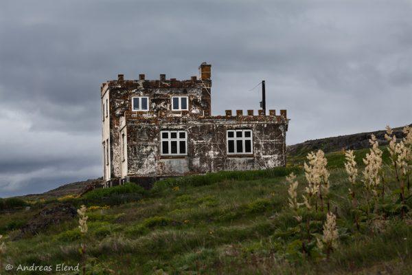 verlassener Hof Westfjorde